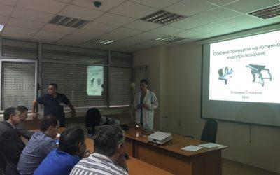Прессъобщение – Курс по колянно ендопротезиране във ВМА – София